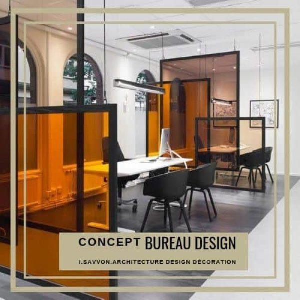 Bureau Design Concept (M² au dessus de 15)