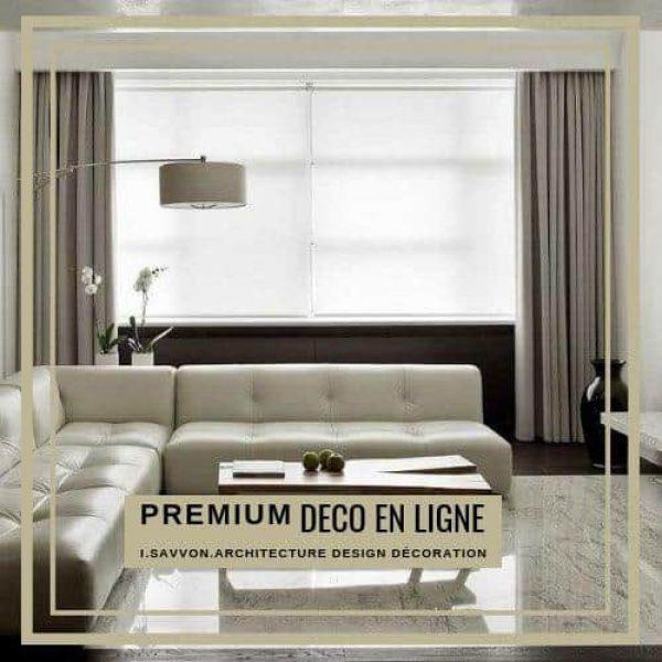 'Déco en Ligne Premium' Une étude experte de votre pièce, une recherche de produits selon votre budget, Le Must pour réussir une décoration élégante et raffinée, sans rendez-vous et à votre rythme